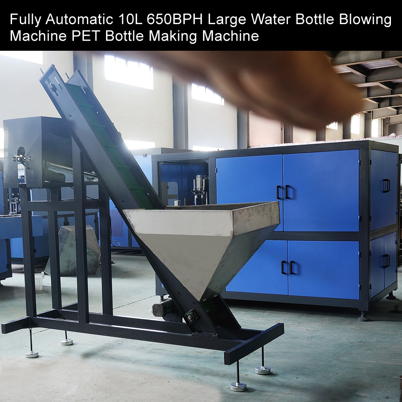 Fully Automatic 10L 1100BPH Large Water Bottle Blowing Machine PET Bottle Making Machine